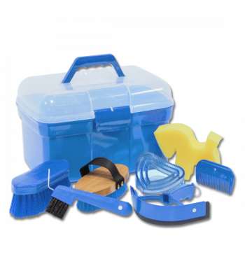 Complete Grooming Box Blue