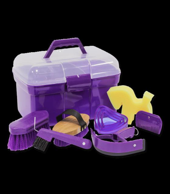 Complete Grooming Box Purple