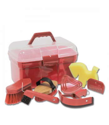 Complete Grooming Box Red