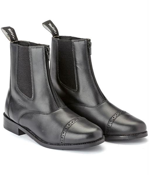 augusta jodhpur boot black a
