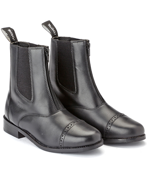 augusta jodhpur boot black