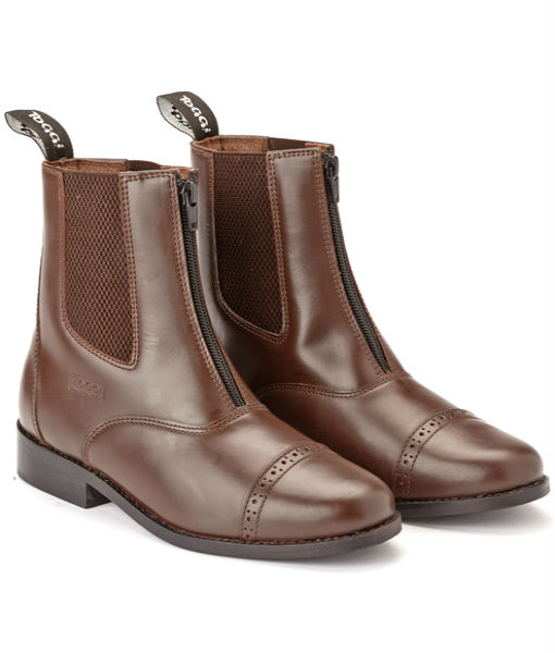 augusta jodhpur boot brown a