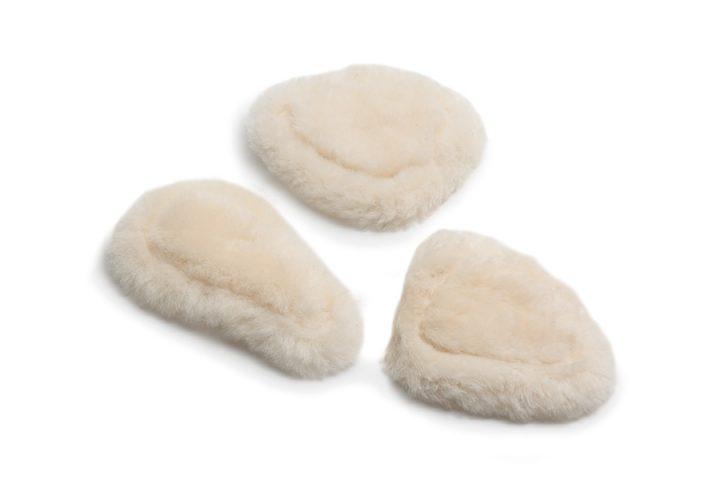 Sheepskin pads