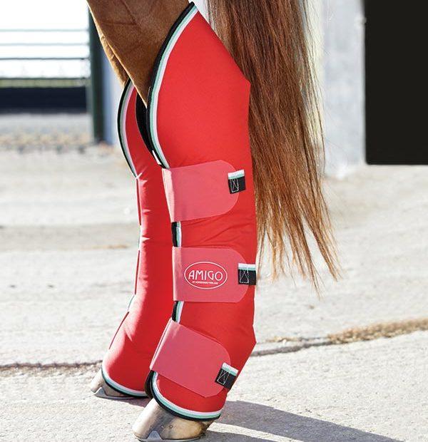 Amigo Travel Boots Red