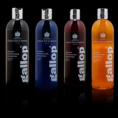 Gallop Colour Enhancing Shampoo range