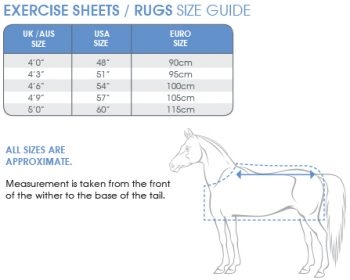 shires wessex newmarket exercise sheet saddles and style