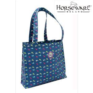 hware_tote_pony_teal pony