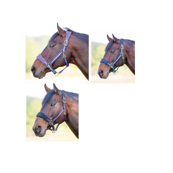 Topaz Fleece Headcollar Saddles And Style