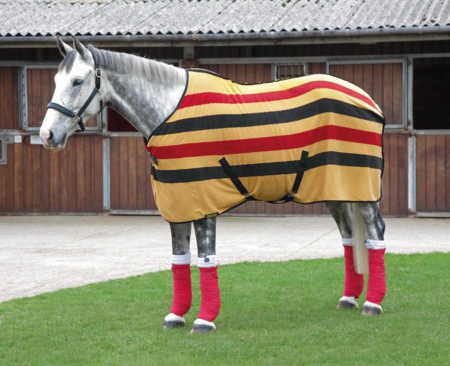 how to make a fleece horse rug