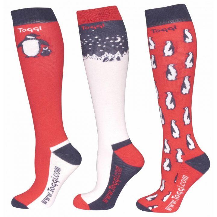 Toggi Lansbury Red Socks