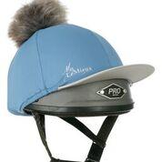 Ice Blue Hat Silk