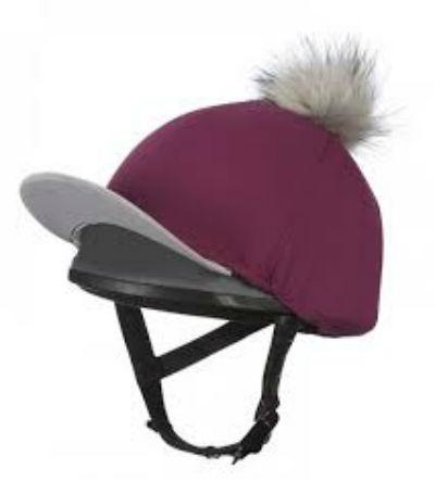Le Mieux Hat silks plum