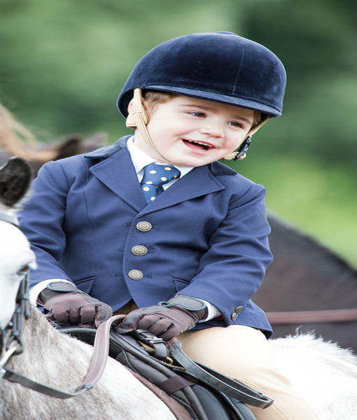 Aston Childrens Show Jacket Navy