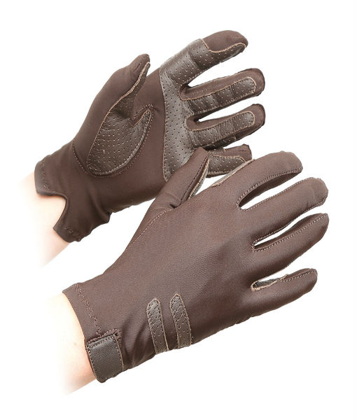 Kelsall competition gloves Brown