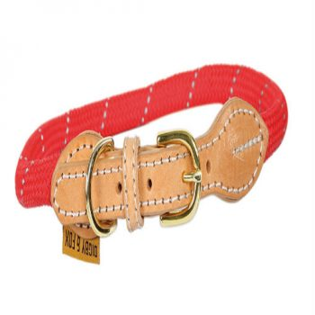 Reflective Dog Collar-Red