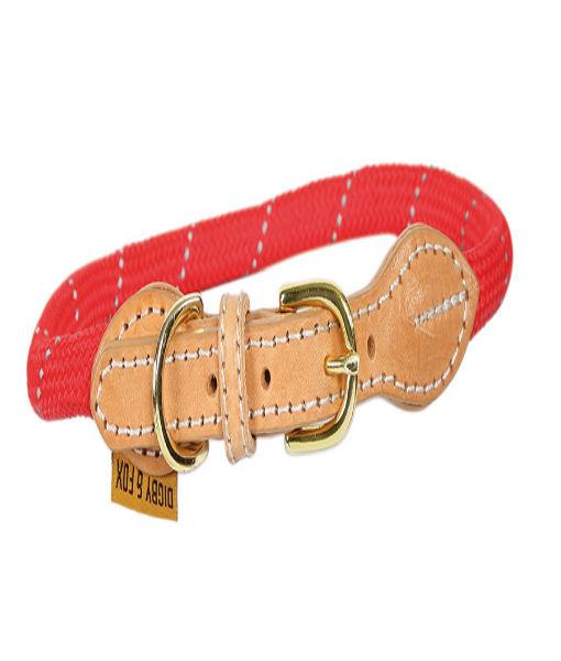 Reflective Dog Collar-Red