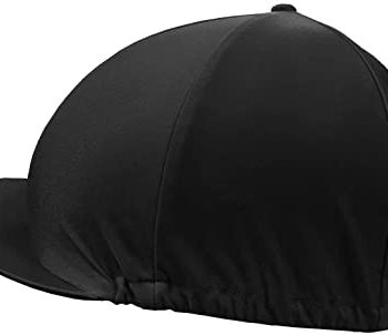 Shires Black Hat Cover