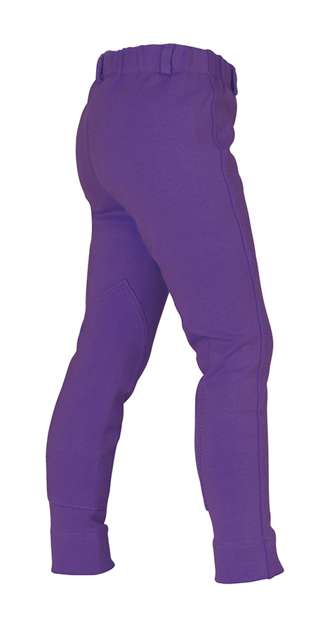 Kids Jodhpurs Purple