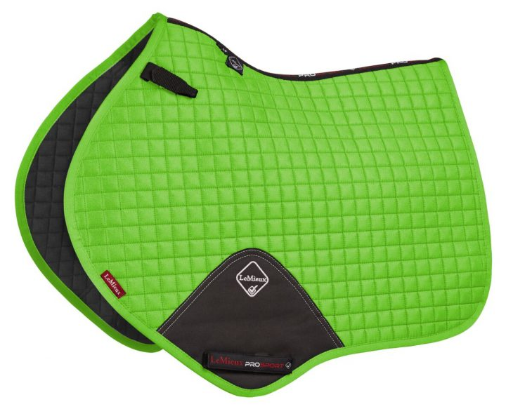 LeMieux Luxury Close Contact Lime Green