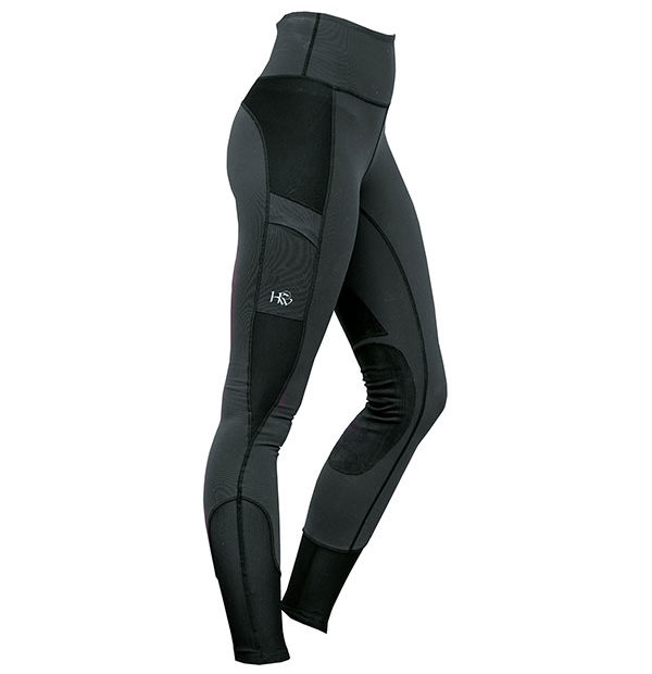 Riding Tights Charcoal
