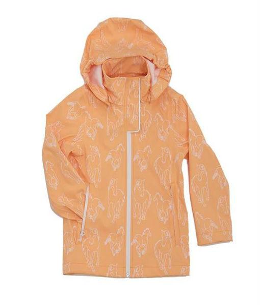 kids rain jacket Apricot