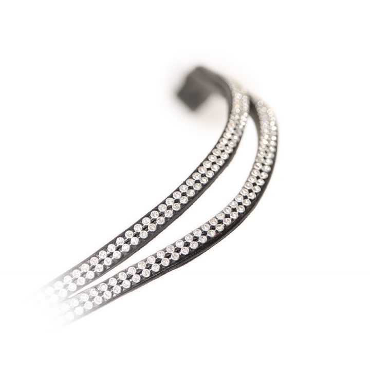 Split Diamante Browband Havana