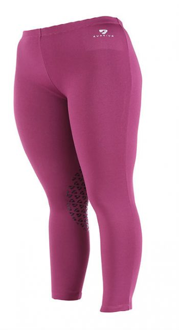 Hastings Fleece Tights Plum