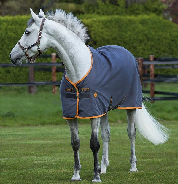 Amigo Stable Sheet Grey.Orange