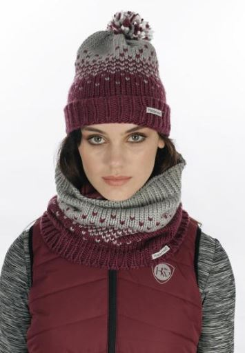 Hat and Snood Garnet cover