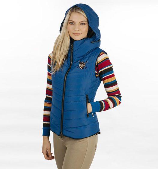 Maya Paddded Vest Hood