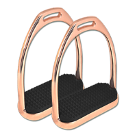 Rose Gold Stirrups pair