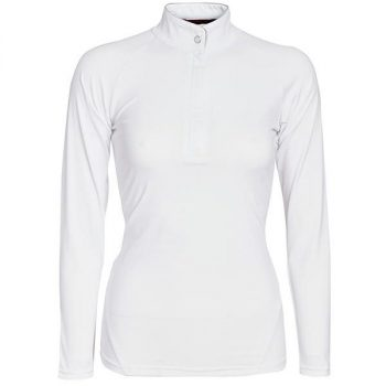 Sara competition Long Sleeve Shirt White