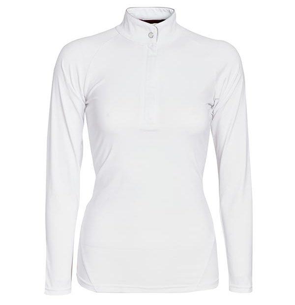 Sara competition Long Sleeve Shirt White