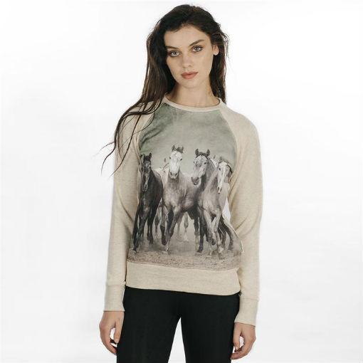Horsewear Sweatshirt Printed front