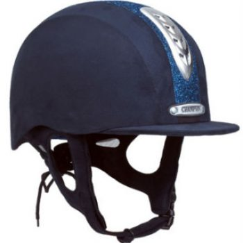 Champion Dazzle riding hat Navy1