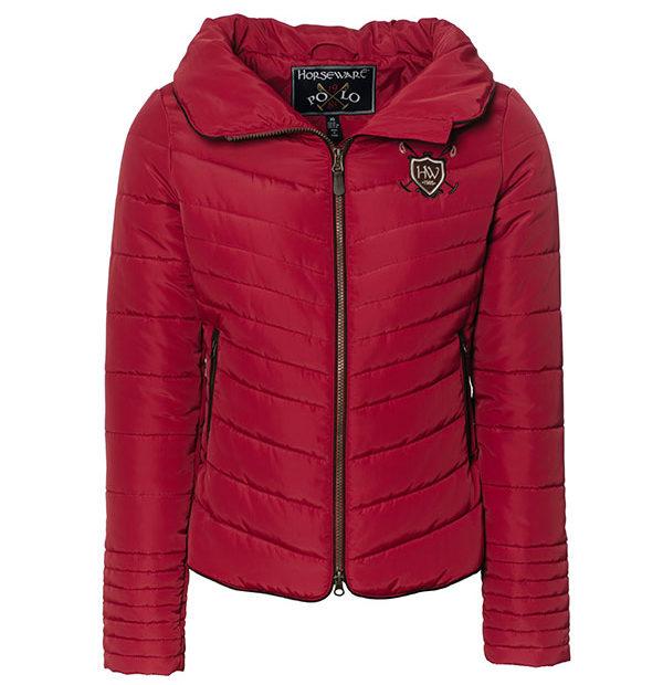 Maya Paddded Jacket Scarlet 1