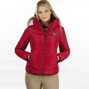 Maya Paddded Jacket Scarlet