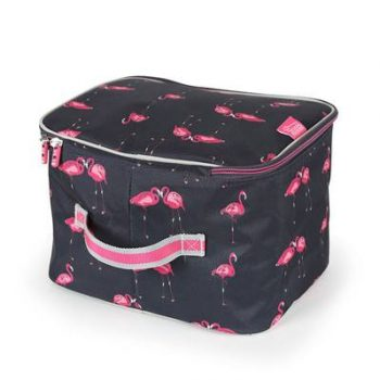Hat Bag Flamingo Print
