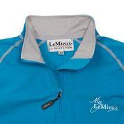LeMieux Base Layer Teal Grey collar