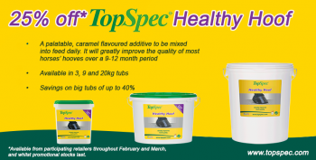 TopSpec Healthy Hoof special offer