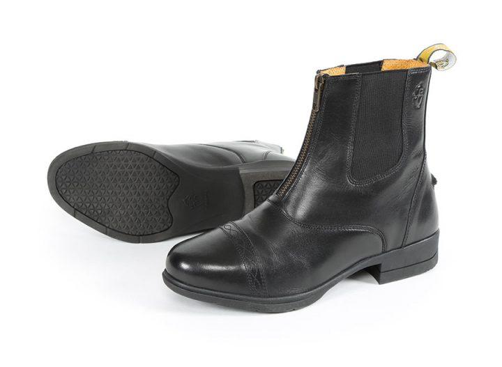 Moretta Rosetta Jodhpur Boot BLACK