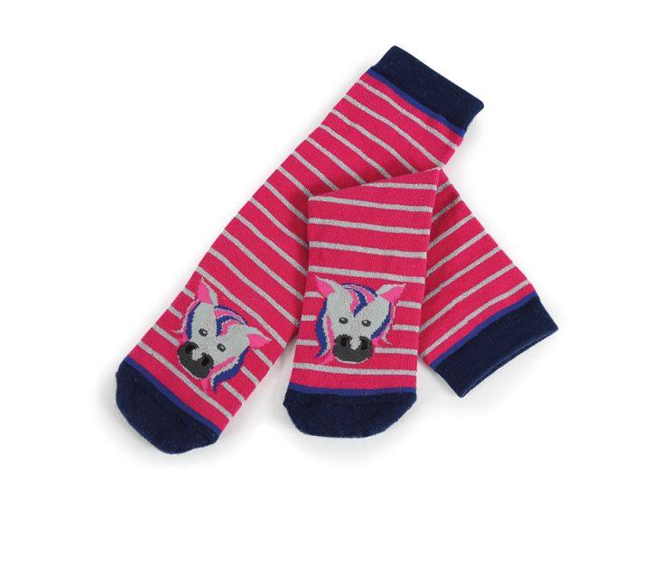 Tikaboo Socks Pink Horse