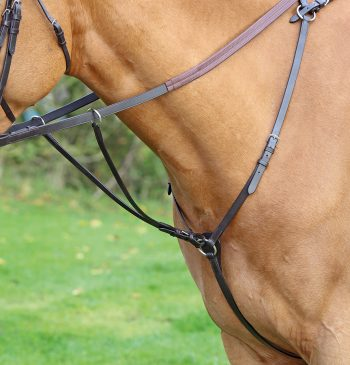 Aviemore Hunt Weight Breastplate Havana