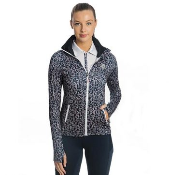 Horseware Technical Full Zip Top Animal Print 2