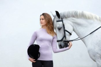 Horseware Crewneck Base Layer Pink 1