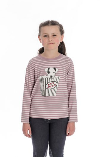 Horseware Girls Long Sleeve Top Lilac