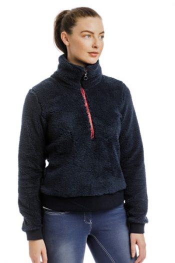 Horseware Chiara Cozy Zip Navy (1)