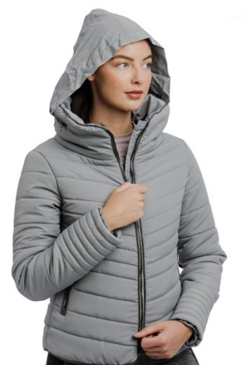 Horseware Maya Padded Jacket Grey (1)