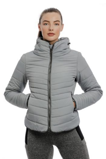Horseware Maya Padded Jacket Grey 2 (1)