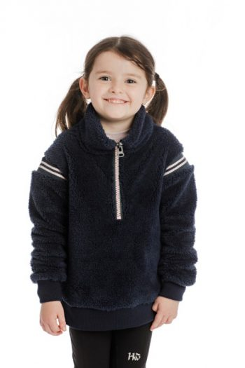 Horseware Sherpa Kids Fleece Navy 2